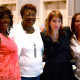 DR. CHRISTINE LESLIE ESPINOZA, Lucille O'Neal-Harrison, Mary Fons AND DR. JACKIE PARKER SCOTT