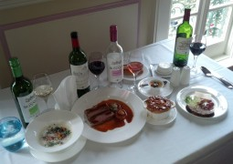 Nov dec food and wine french lunch pic for article