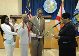 2014 july august Politics swearing in ceremony commissioner hill