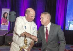 2015 jan feb John Crossman and Chef Cope-Winning Chef
