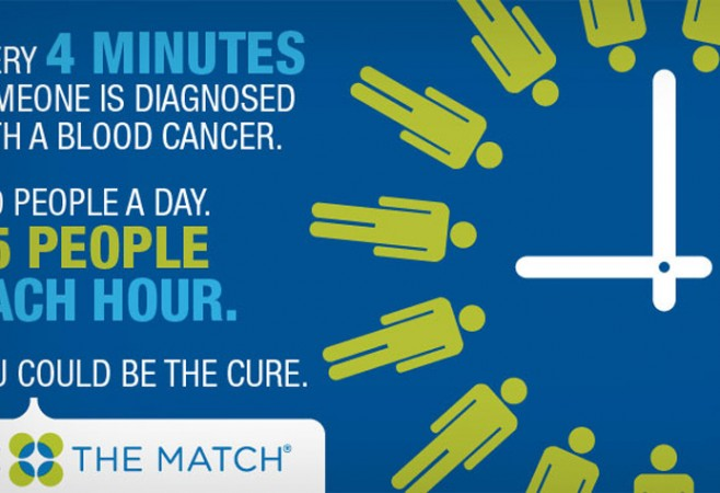 Join A Registry. Be The Match. Save A Life!